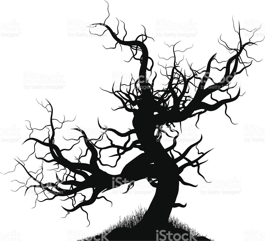 1024x931 Creepy Tree Free Clip Arts Sanyangfrp
