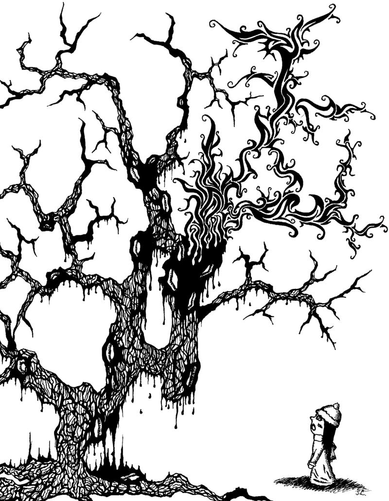 800x1030 Why So Sad Mr. Tree' By Hoo R You