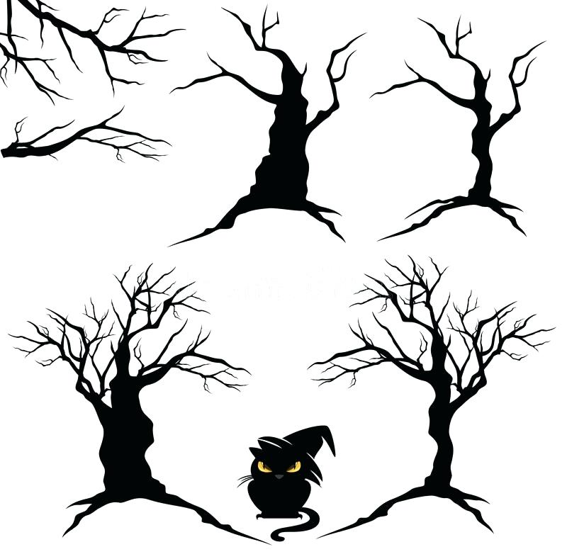 800x789 Halloween Trees Dead Trees Pack Trees Haunted Role Play Trees 6