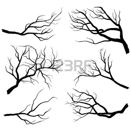 450x450 Spooky Clipart Branch