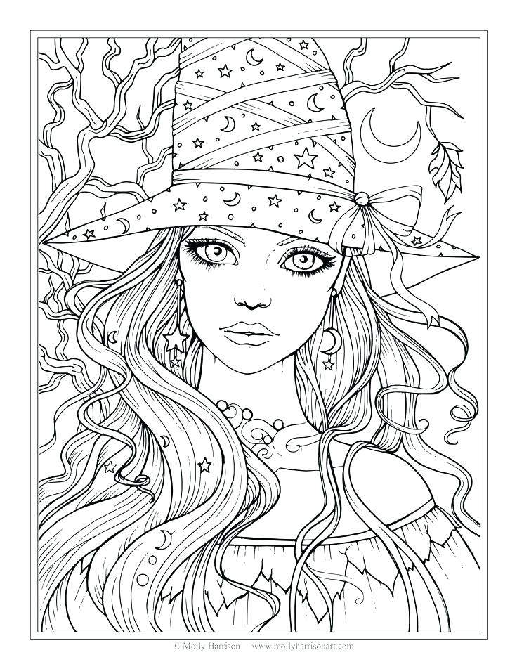 736x952 Here Are Witch Coloring Pages Images Coloring Page Of A Witch