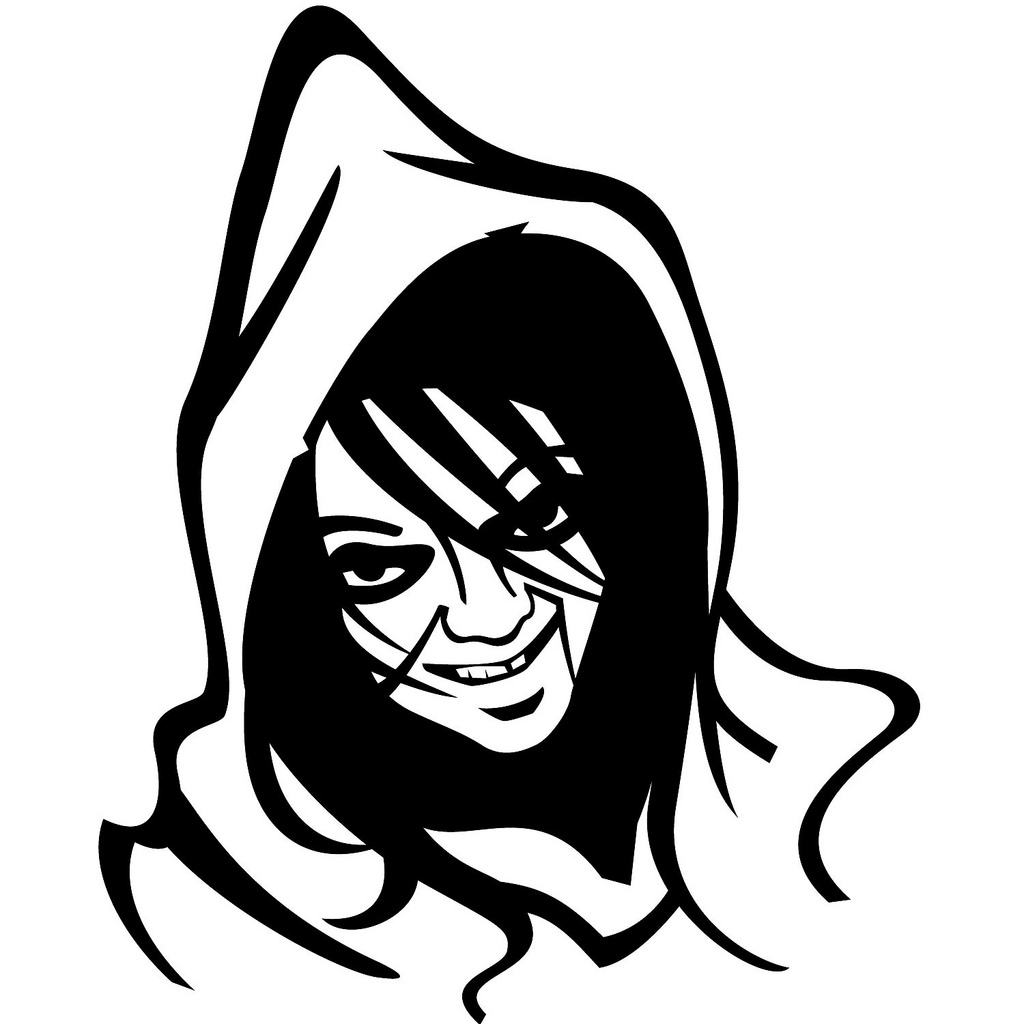 1024x1024 Scary Witch Face Vector Image If You Want To Use This