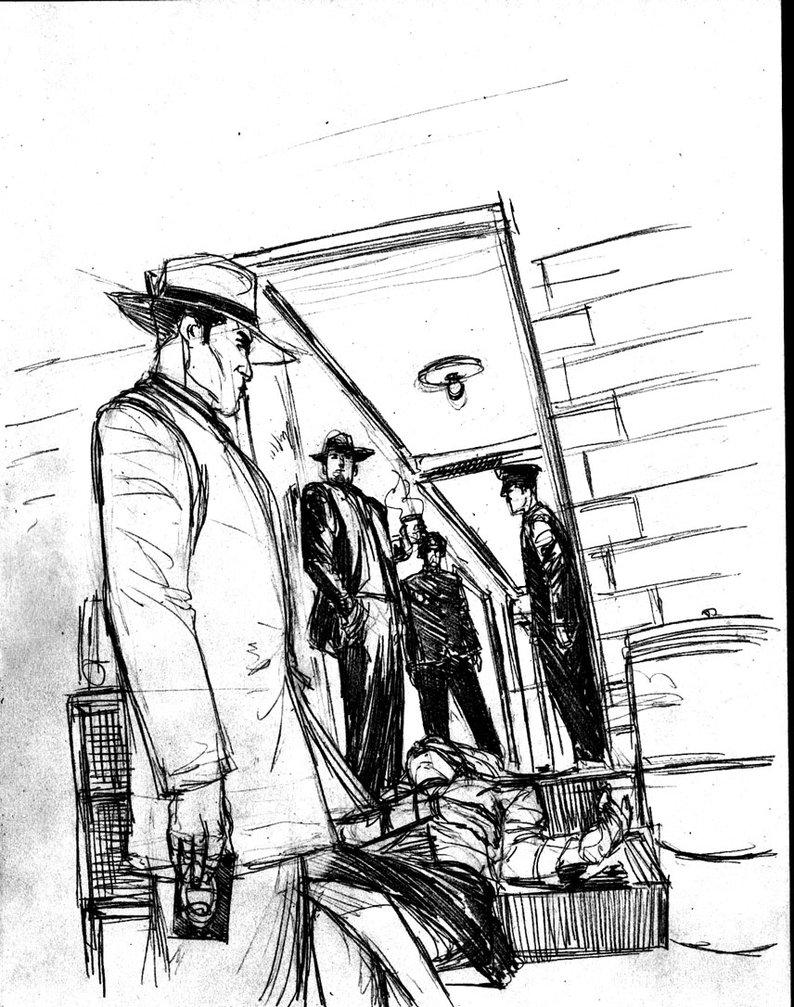 794x1007 La Noire Sketch Scene 2a By Nstevenharris