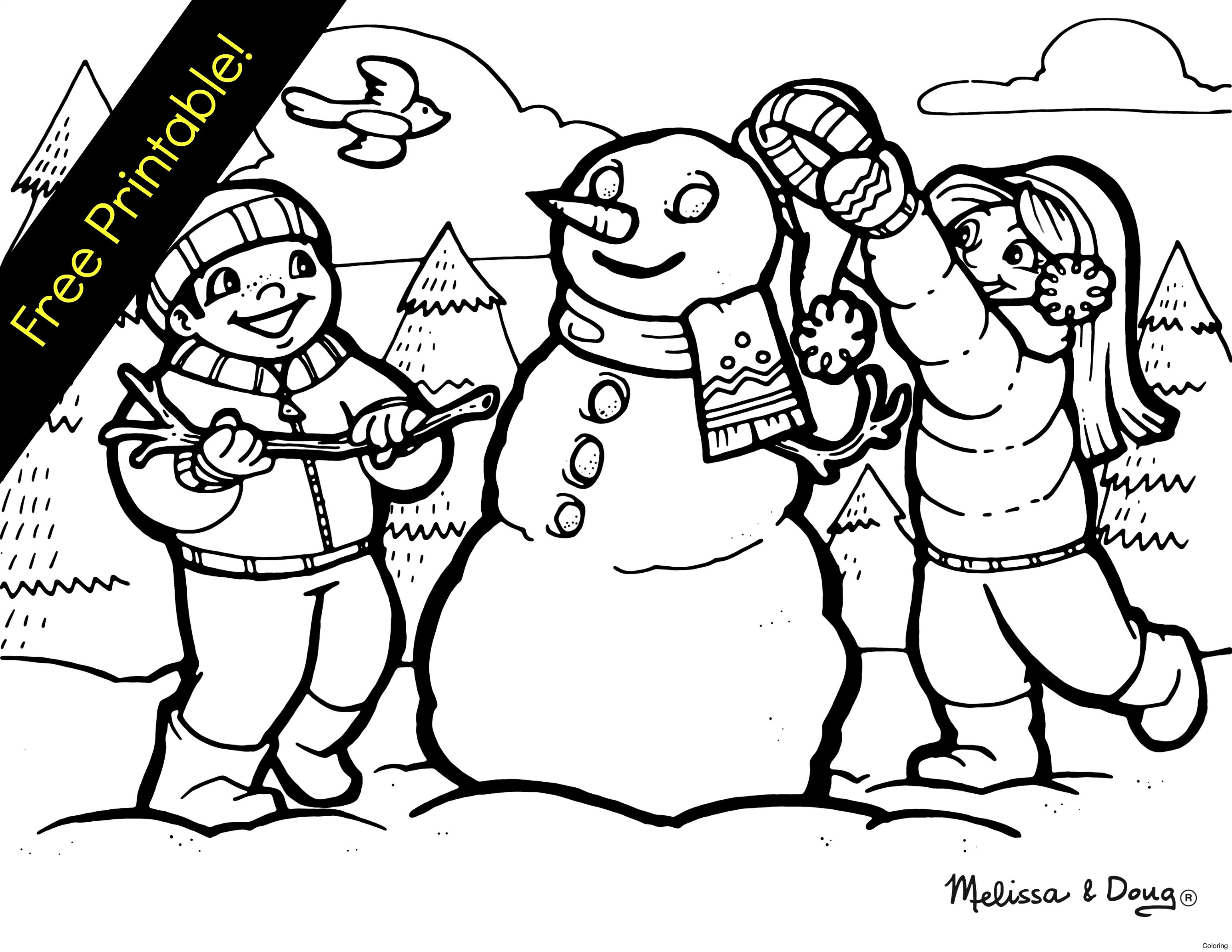 Scene kid drawing at free for personal for Dltk winter coloring pages
