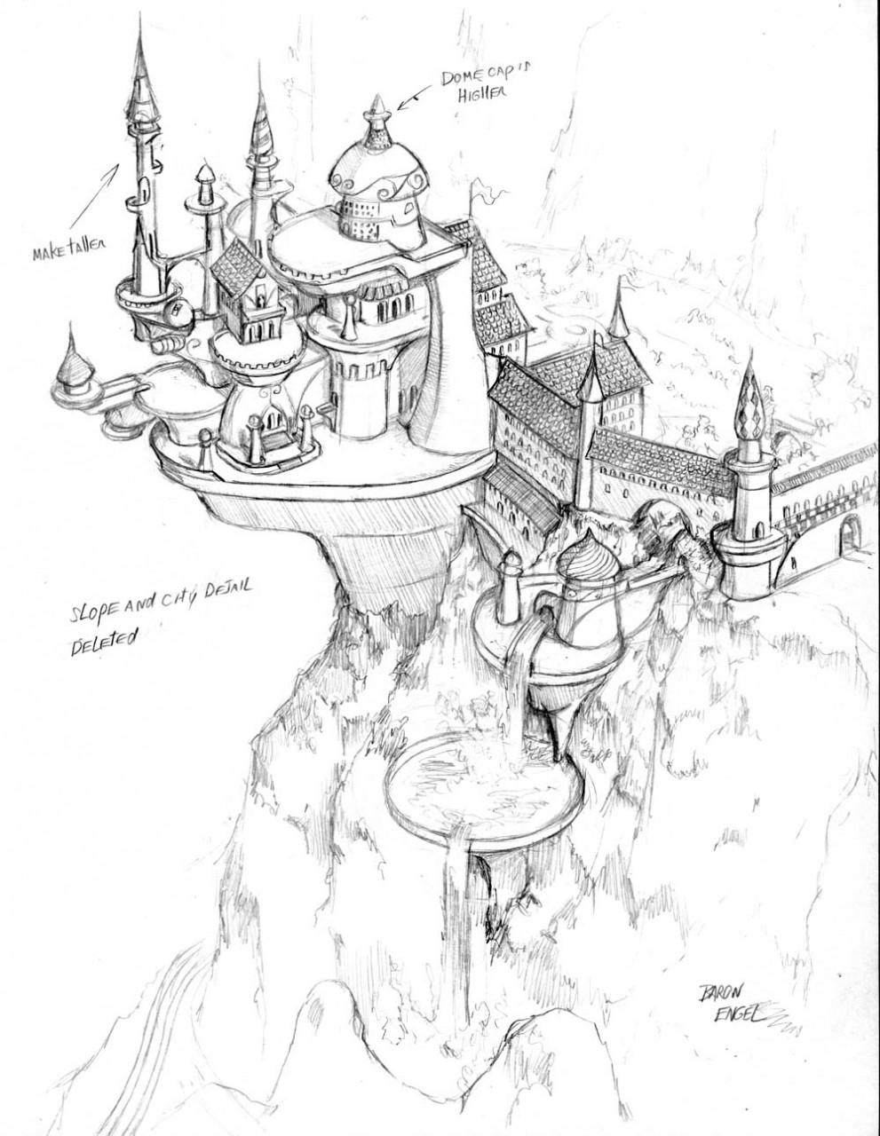 Scenery Drawing