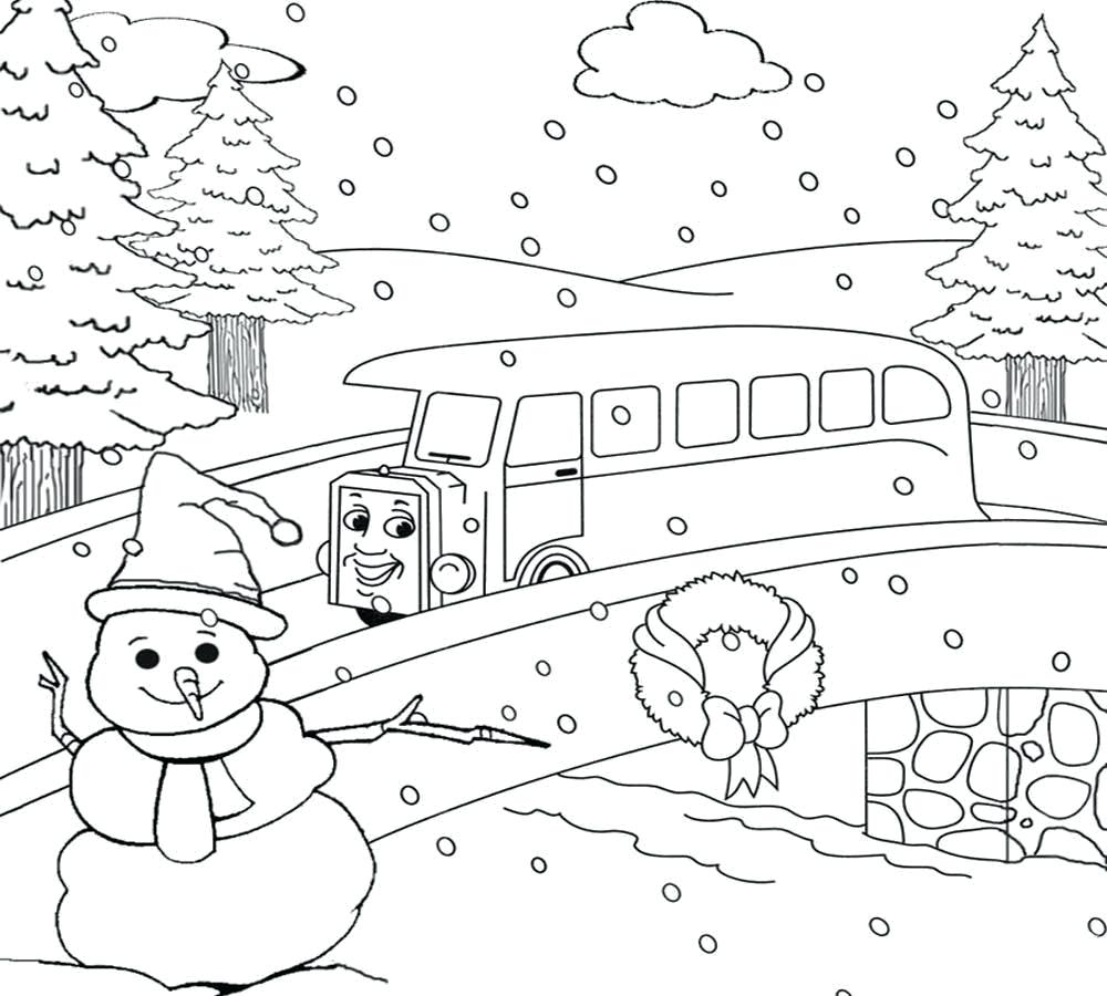 1000x900 Coloring Coloring Pages Nature Scenery With For Drawing Kids