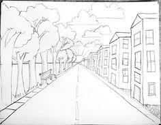 236x183 Drawn city scenery