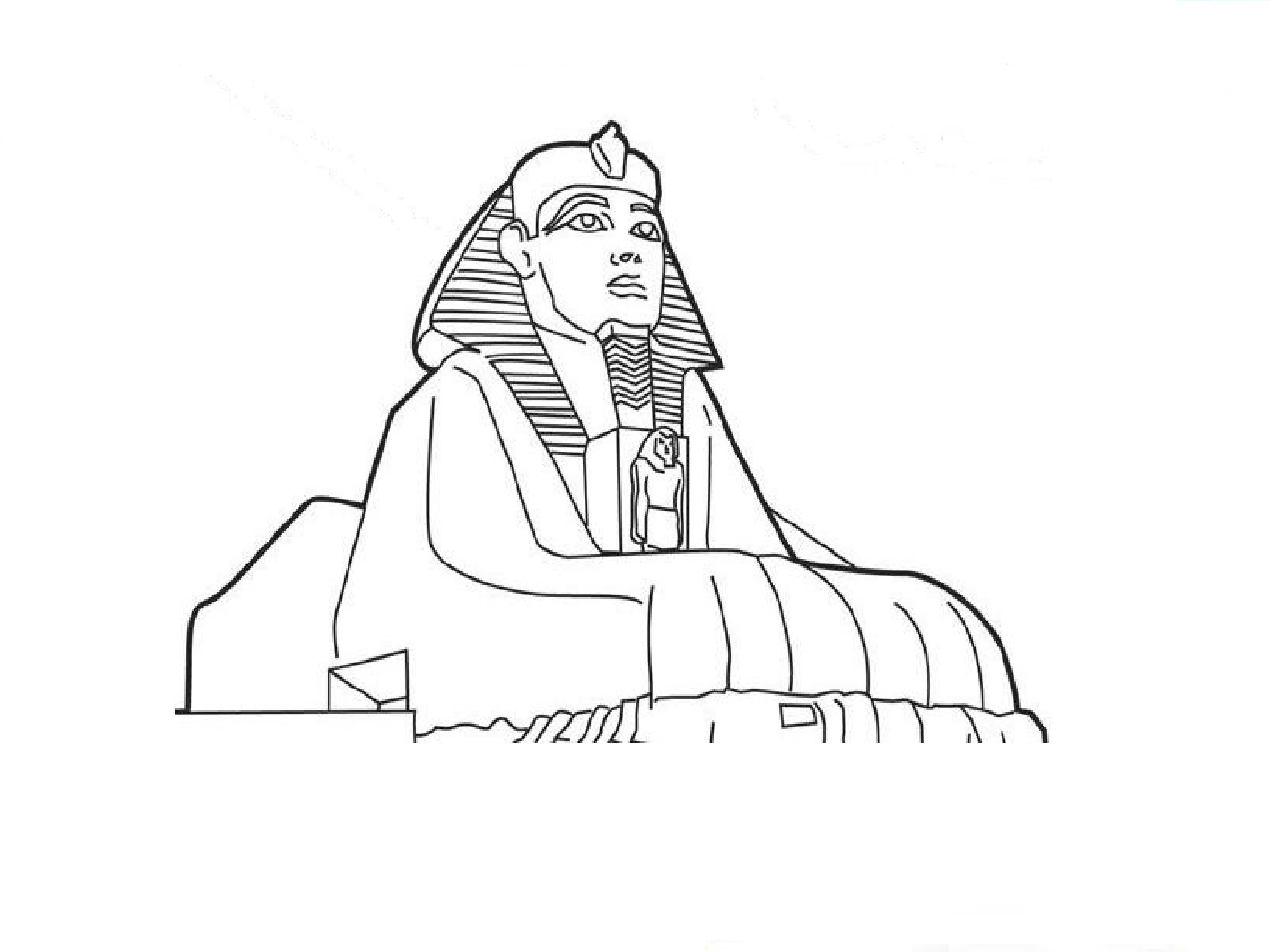 2592x1944 How to Draw the Sphinx Êàê íàðèñîâàòü Ñôèíêñà