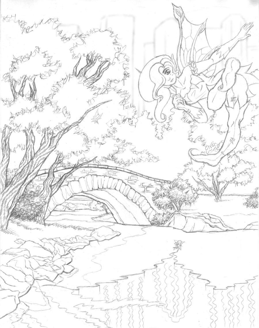 900x1141 Drawn Scenic Senery