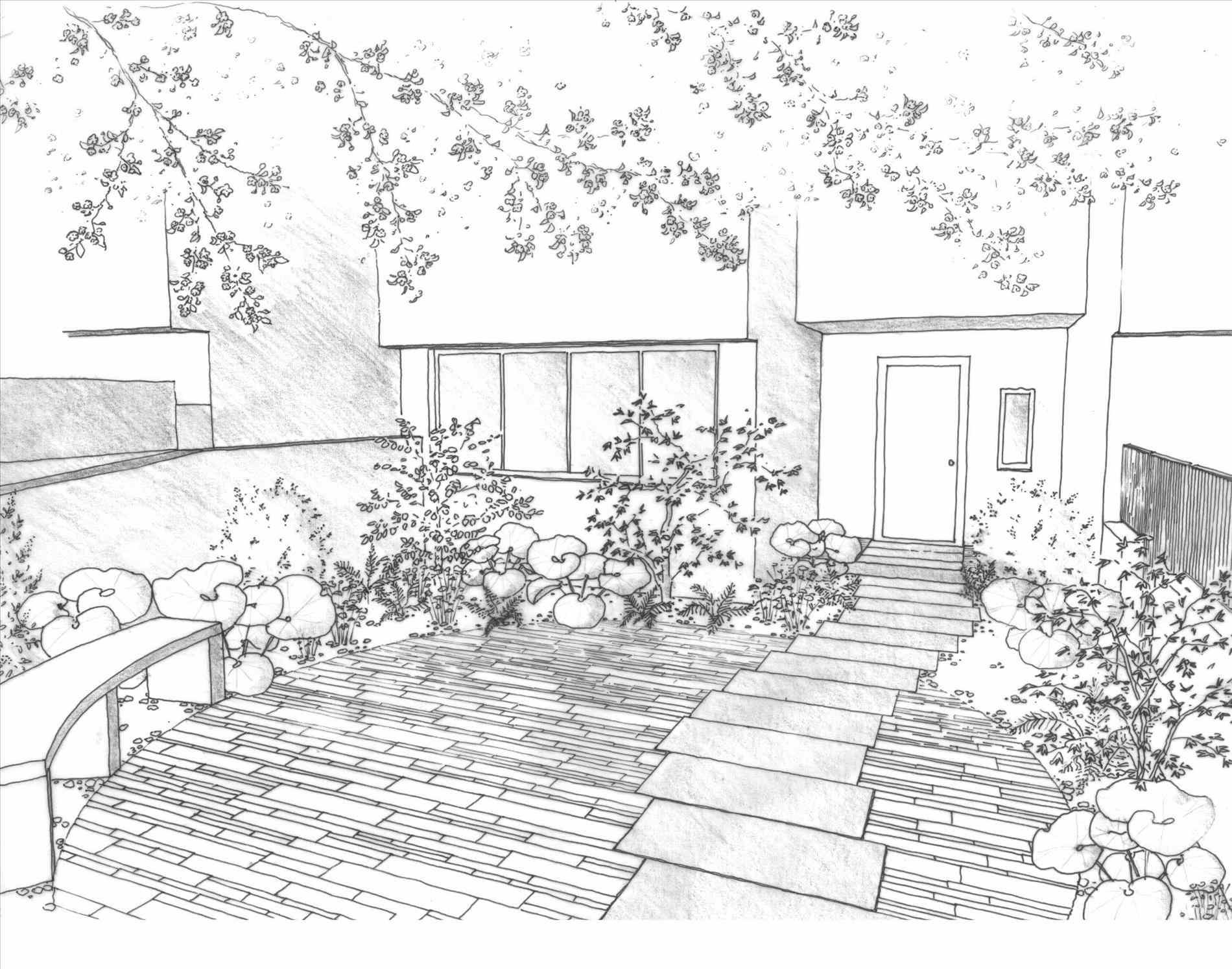 1900x1494 Landscape Drawings Pencil For Kids Articlespagemachinecom