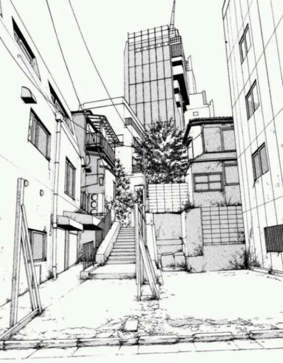 562x720 Manga Landscape Manga Cityscapes Manga