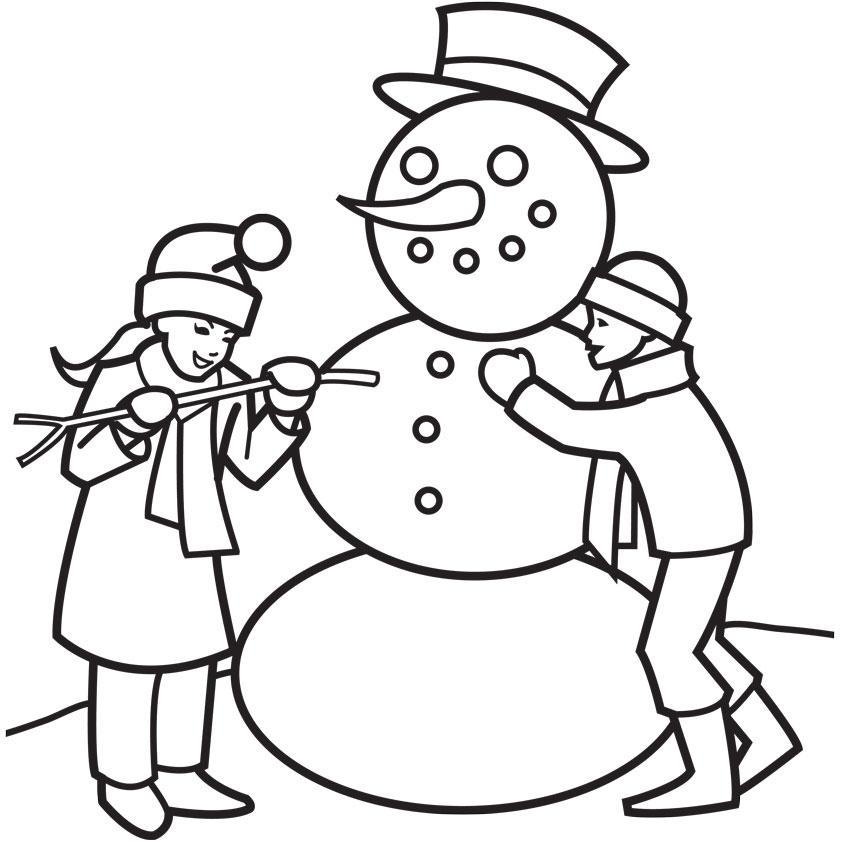 842x842 Drawn Christmas Scenery