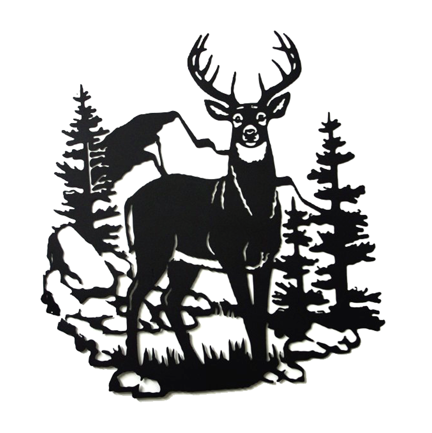 1500x1506 Deer Scenery Lyons Enterprises