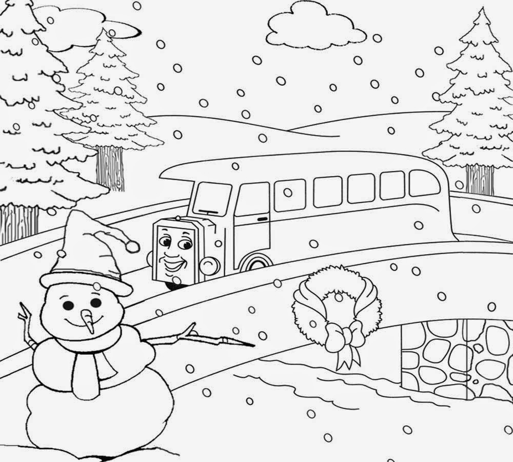 1000x900 Draw With Nature Scenery Coloring Nature Drawing For Children