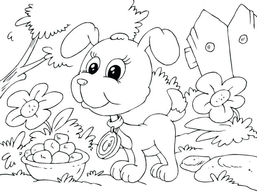 863x647 Printable Scenery Coloring Pages Genesisar.co