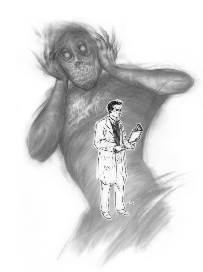 Schizophrenia Drawing