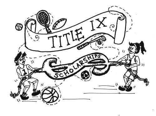 500x374 Title Ix Causes Unequal Scholarship Distribution