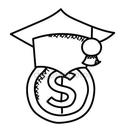 427x449 Mortarboard Dollar Representing Scholarships Sponsored Education
