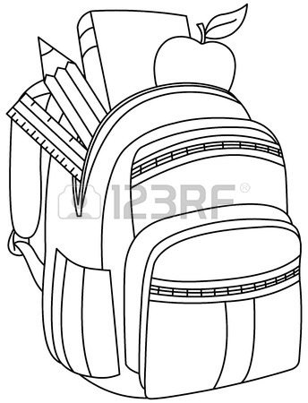 344x450 24,869 School Bag Stock Vector Illustration And Royalty Free