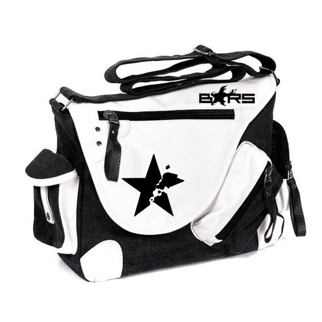 640x640 Online Shop New Cartoon Unisex Black Rock Shooter School Bag Brs