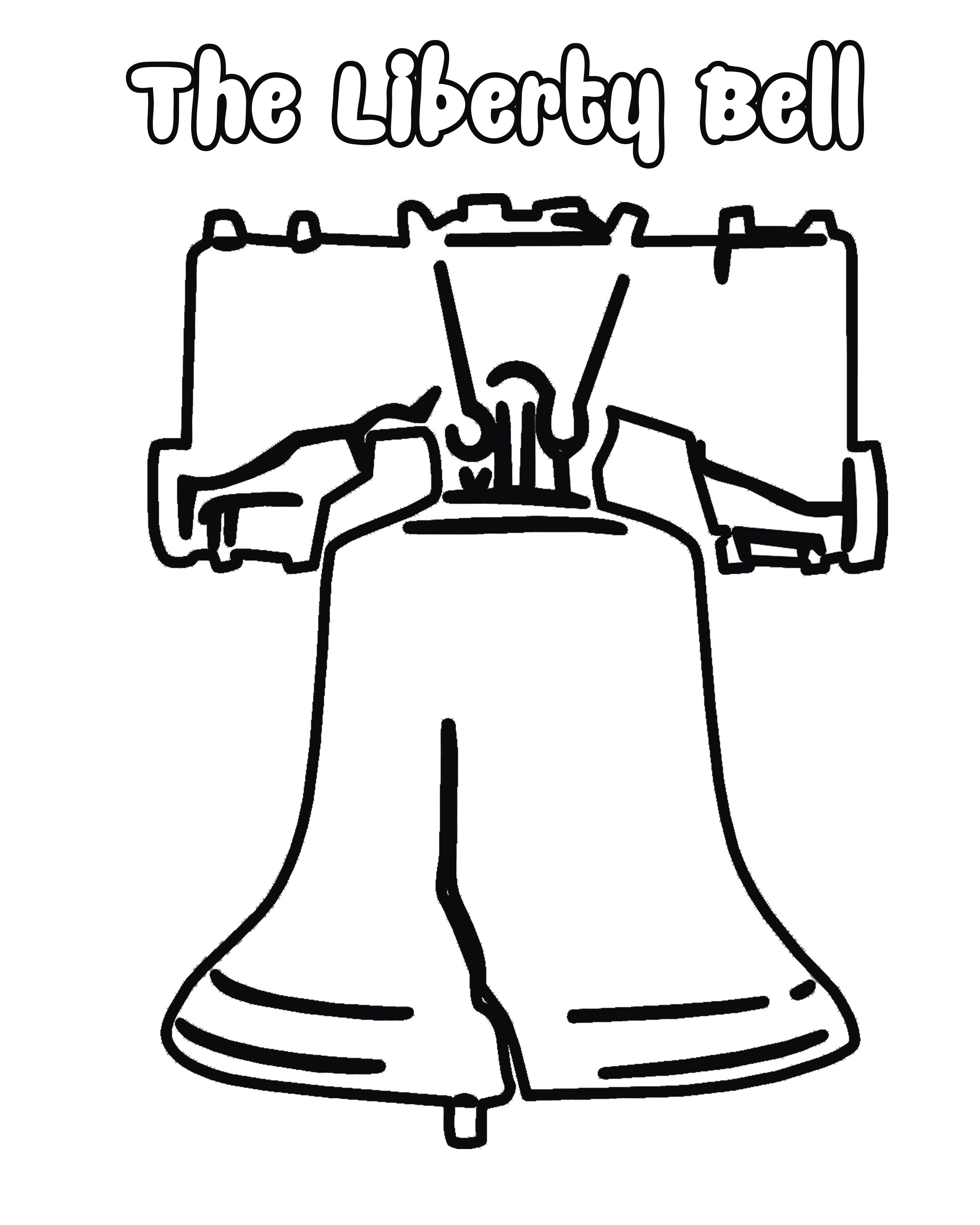 2400x3000 School Bell Coloring Page Luxury Manificent Decoration Liberty