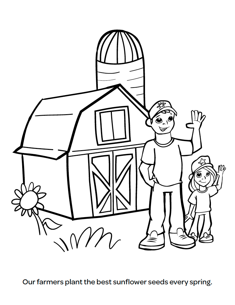 752x975 New Farm To School Coloring Book Sunbutter Foodservice