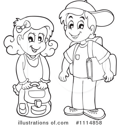 400x420 School Boy Clipart Black And White 7 Clipart Station