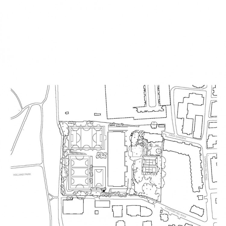 750x750 Holland Park School, London, Uk