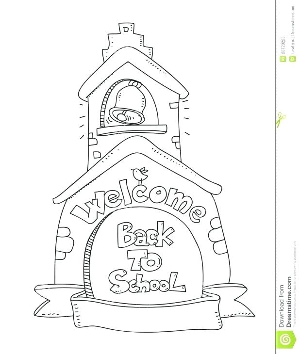 618x730 Welcome Back Coloring Pages Back To School Colouring Page Coloring
