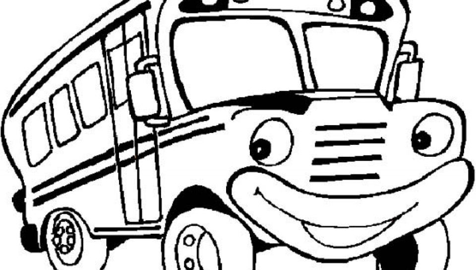 960x544 Renault Line Ratp Bus Coloring Page Pages For Kids Of School