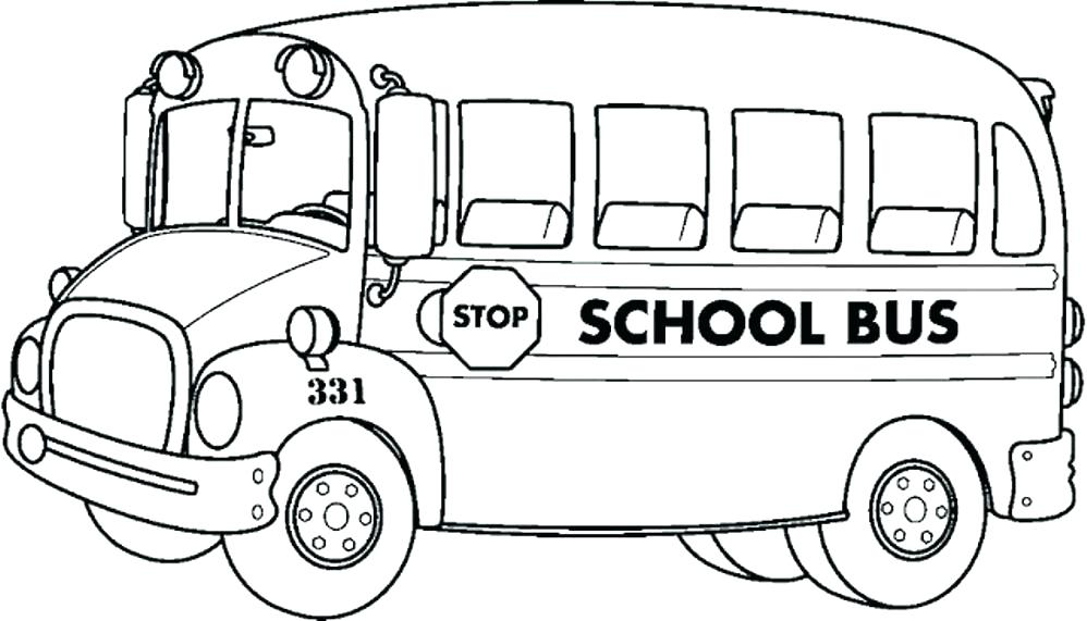 School Bus Drawing at GetDrawings.com | Free for personal use School ...