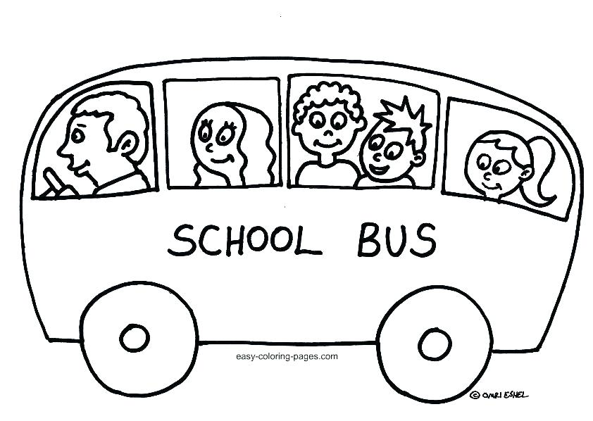 842x598 Luxury Coloring Pages Bus Print Picture School In Page With Of