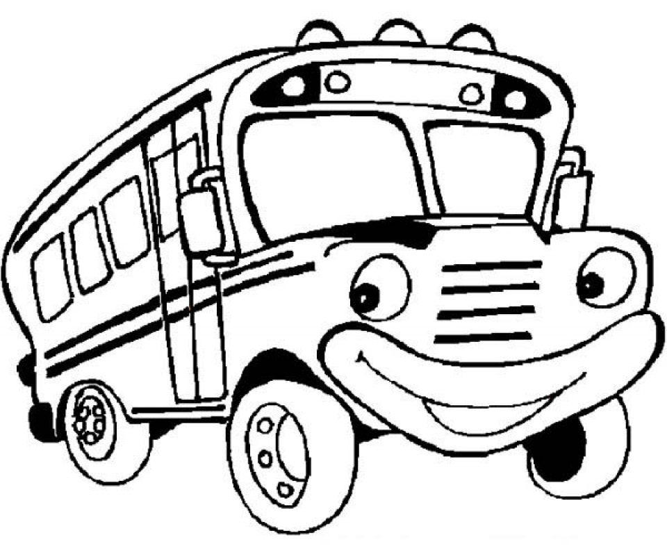960x800 Renault Line Ratp Bus Coloring Page Pages For Kids Of School