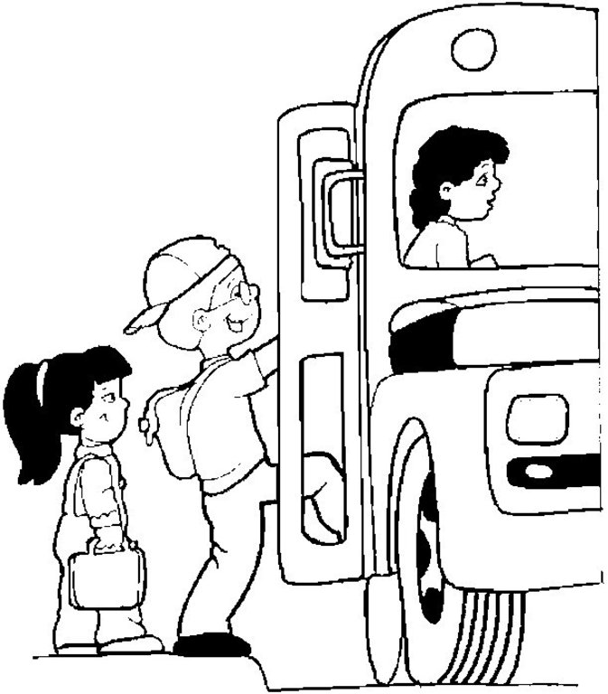 673x768 School Bus Cartoon Images Many Interesting Cliparts