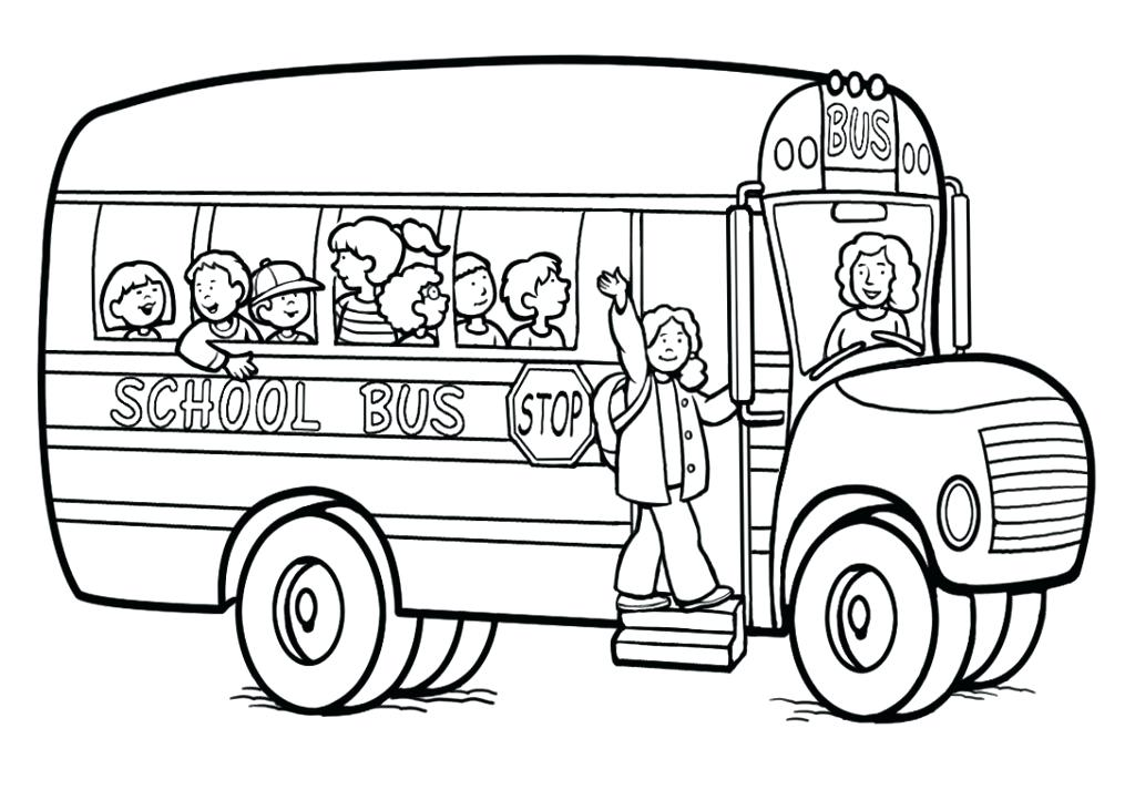 School Bus Diagram