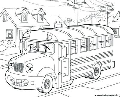 400x322 School Bus Coloring Book Coloring Trend Thumbnail Size School Bus