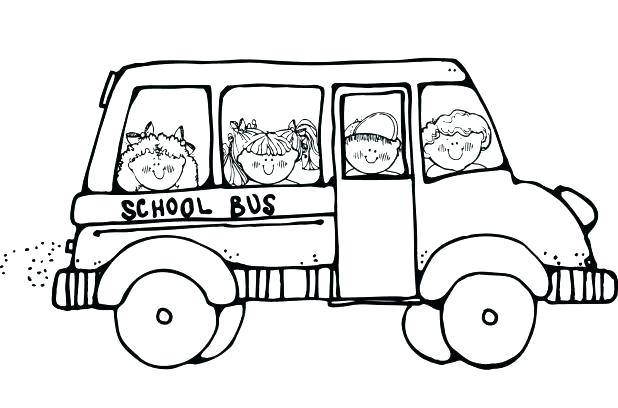 618x408 School Bus Coloring Page Free Printable School Bus Coloring Pages