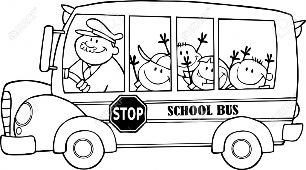 1024x571 Drawing Of School Bus Bus Driver Images Amp Stock Pictures 3981