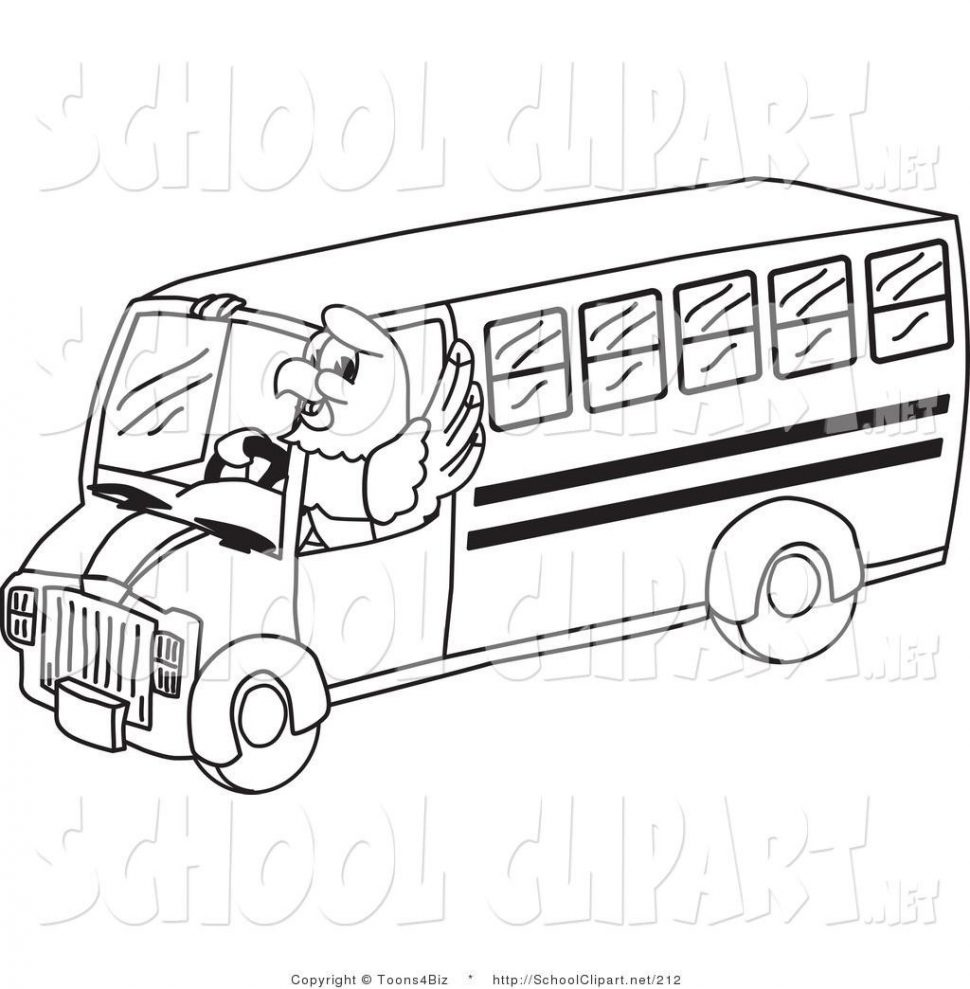 School Buses Drawing at GetDrawings.com | Free for personal use ...