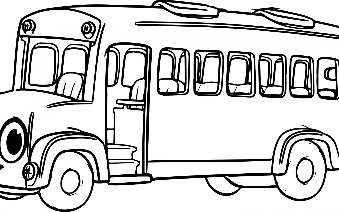 School Buses Drawing At Getdrawings Free For Personal Use