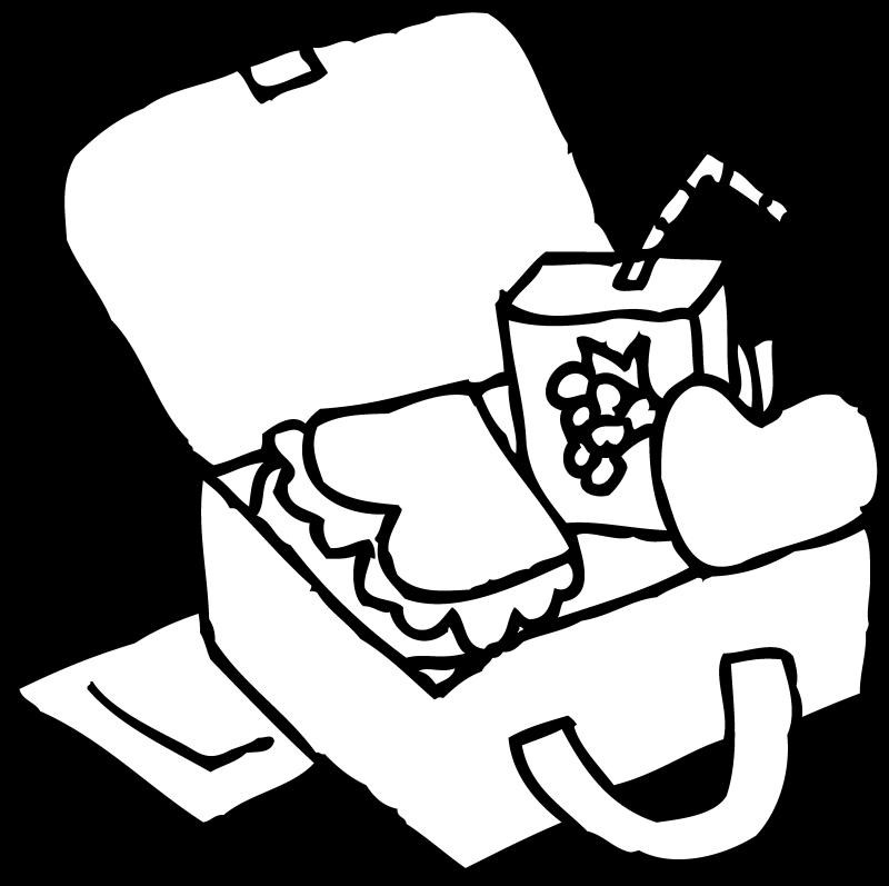 800x797 Lunch Tray Clip Art