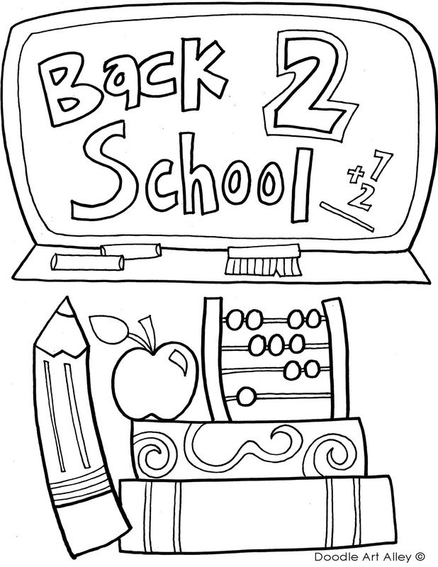 618x800 Back To School Coloring Pages