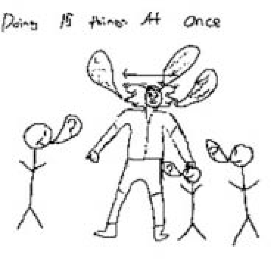 570x528 Drawing By A Middle School Student Of A Teacher