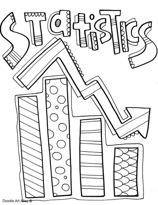 618x800 Picture Creative Statistics, Binder And Doodles