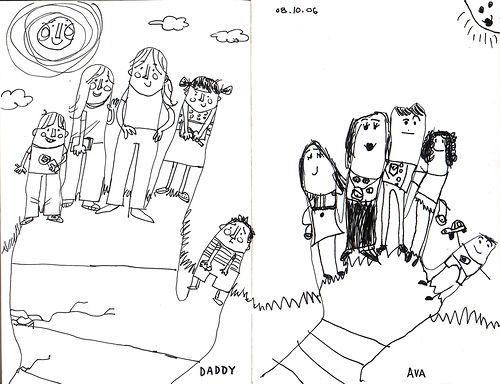 500x384 Ava Thursday Little Finger People School, Classroom Art