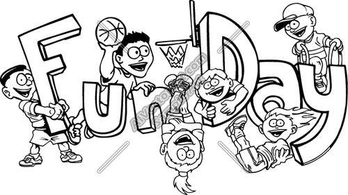 500x281 Funday Clipart And Vectorart People