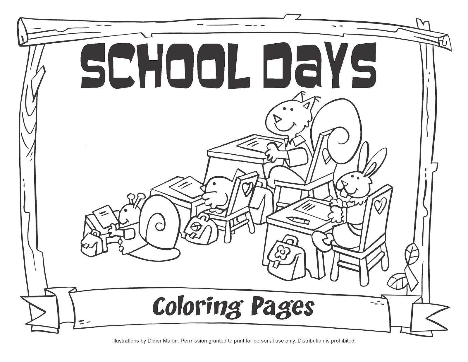 1600x1236 My Little House School Days Coloring Pages