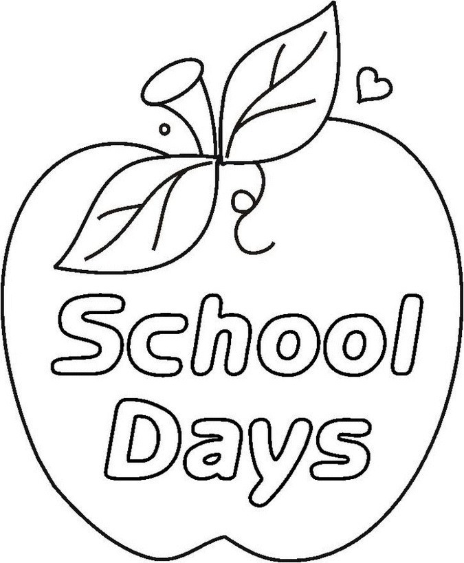 School Days Drawing at GetDrawings.com | Free for personal use ...