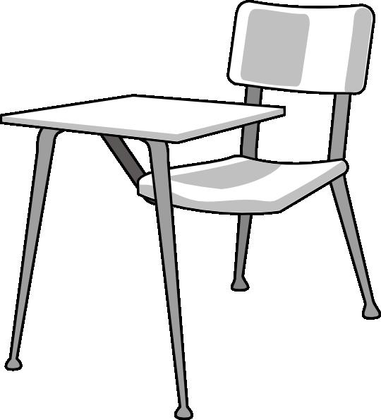 540x595 Furniture School Desk Clip Art 7yq717 Clipart