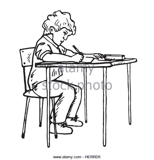 520x540 Write Sitting Desk Cut Out Stock Images Amp Pictures